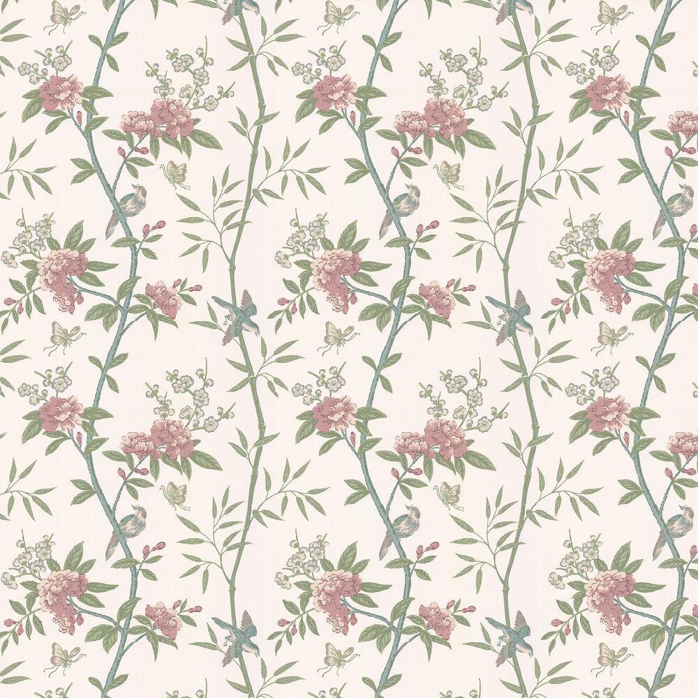 G P & J Baker Peony & Blossom Vintage Wallpaper - Product code: BW45066/8