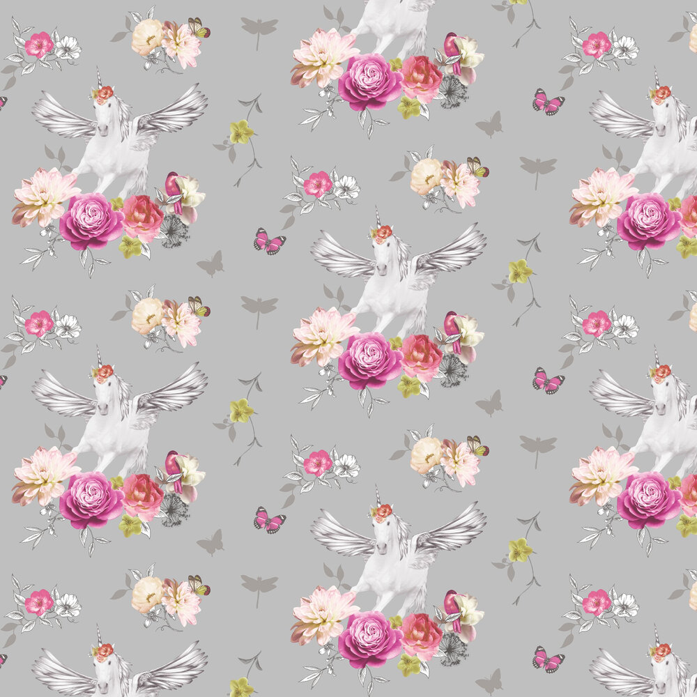 Arthouse Anastasia Silver Wallpaper - Product code: 692303