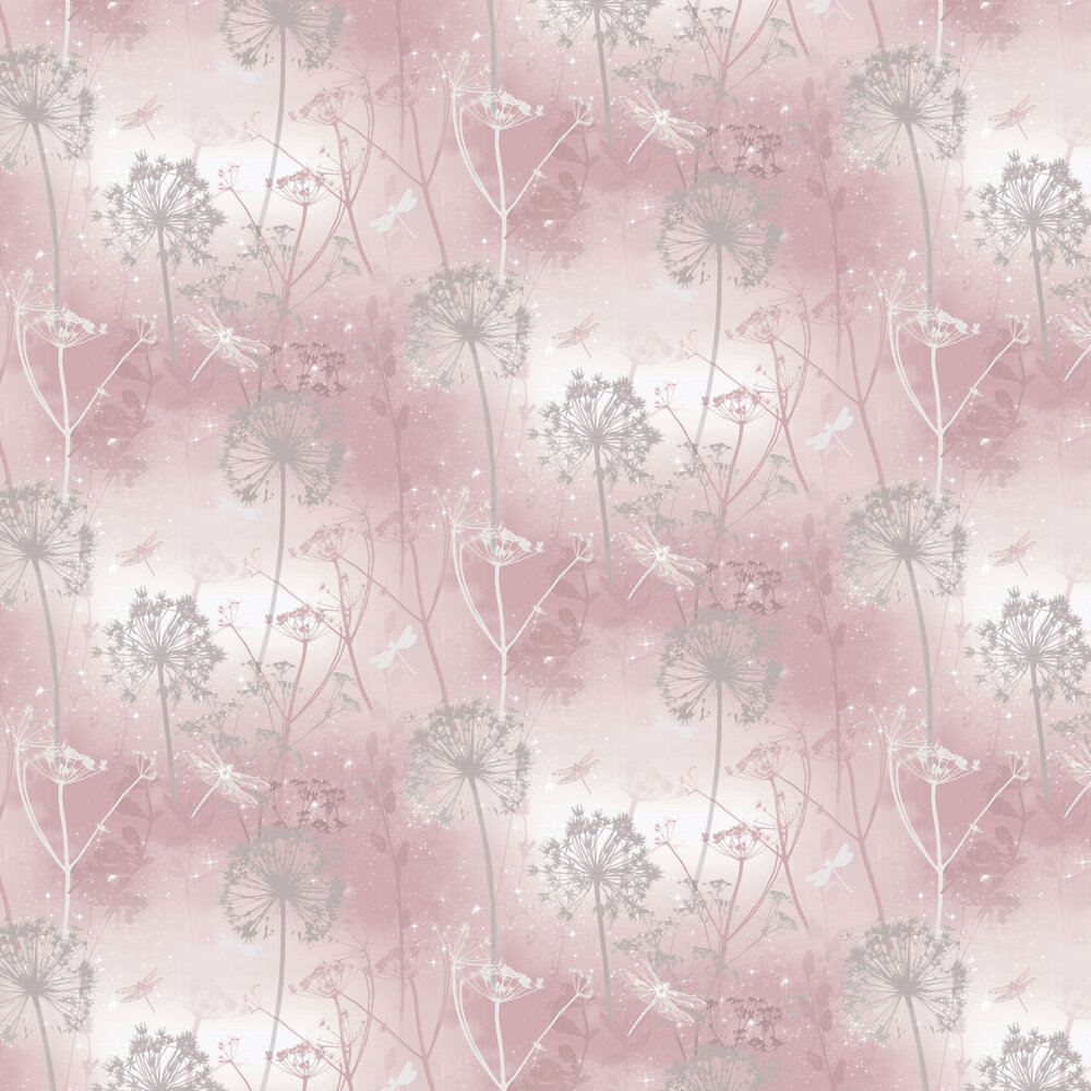 Arthouse Damselfly Blush Wallpaper - Product code: 692305