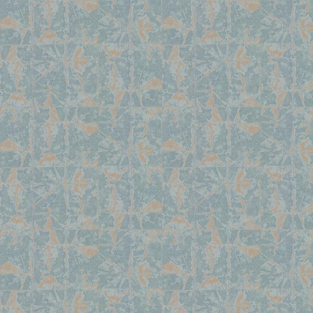 Venezia Wallpaper - Teal - by Villa Nova