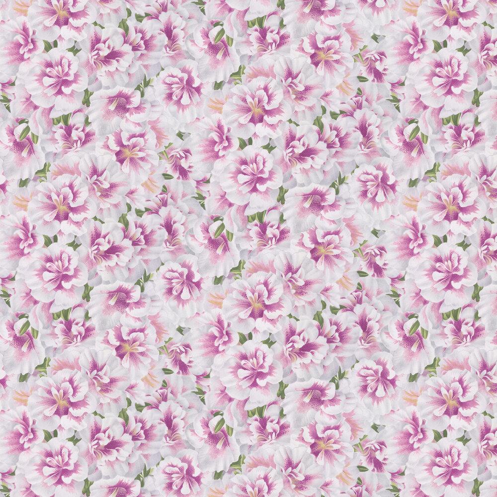 Designers Guild Variegated Azalea Violet Wallpaper - Product code: PJD6004/02