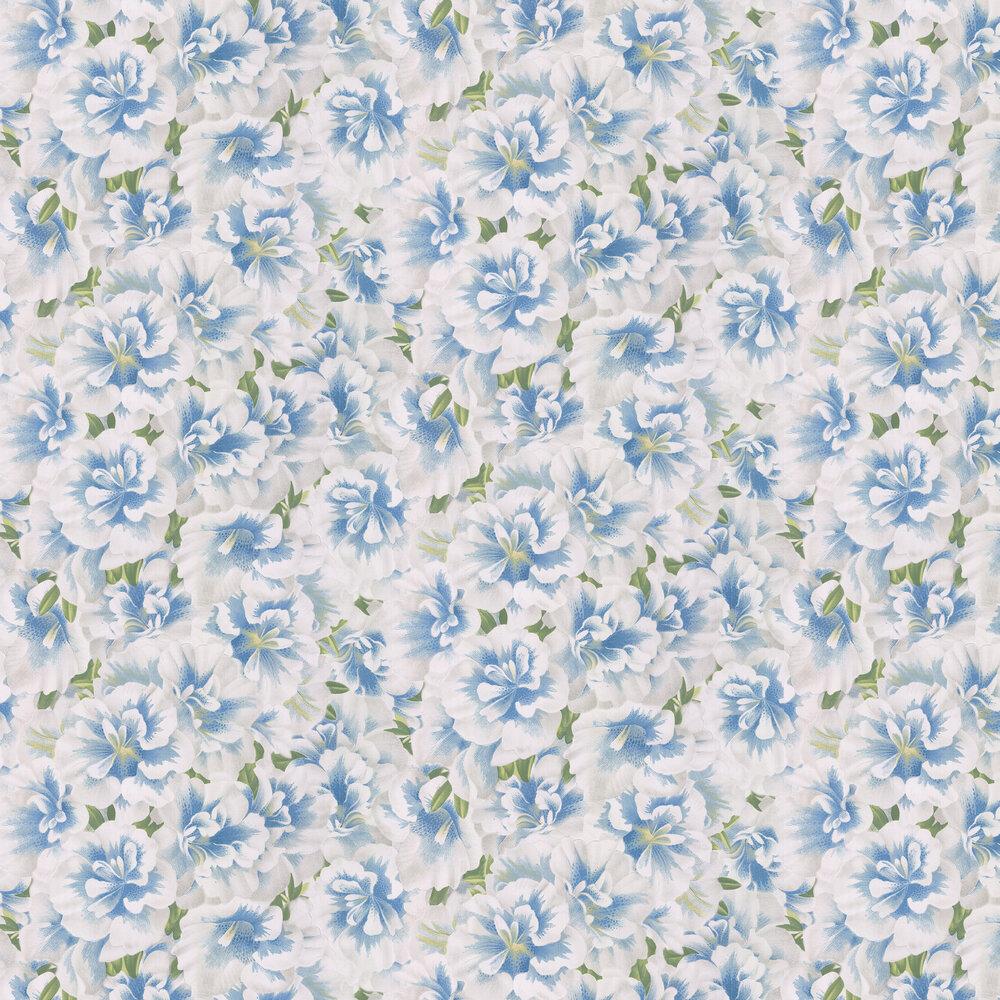 Designers Guild Variegated Azalea Swedish Blue Wallpaper - Product code: PJD6004/04