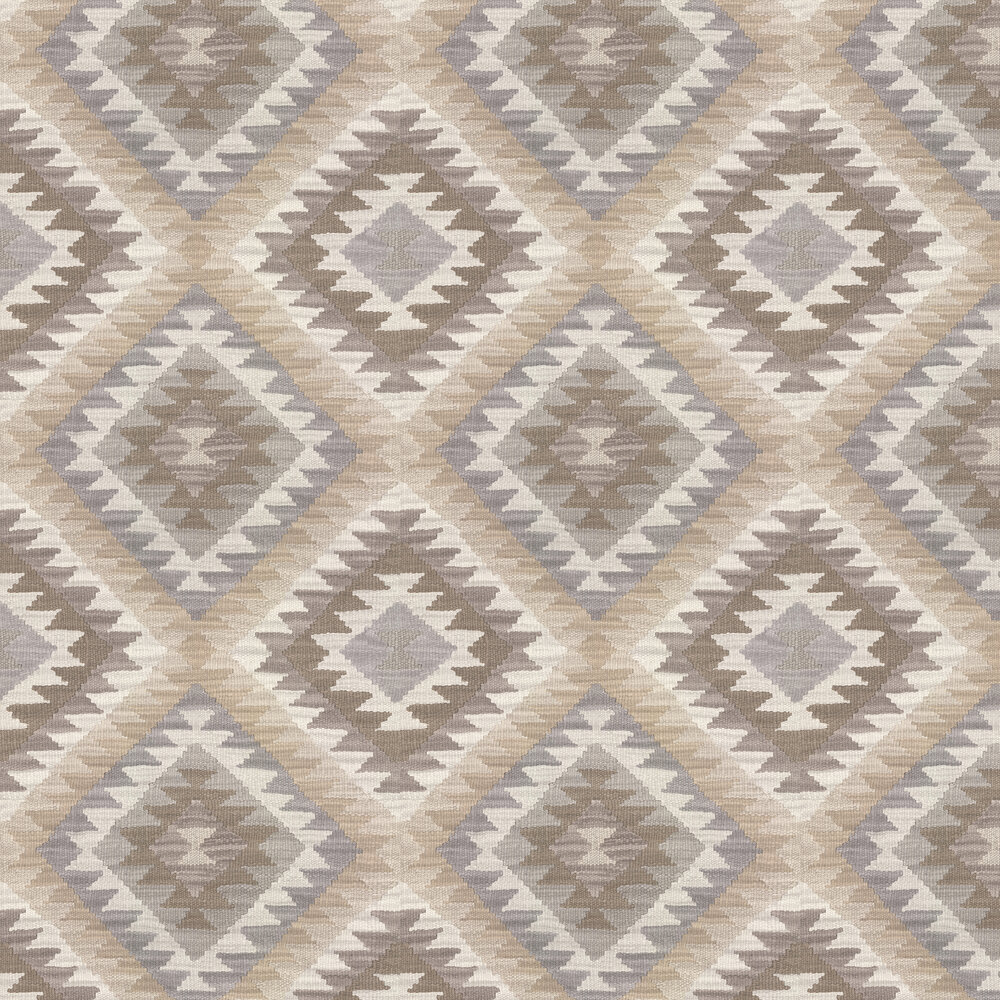 Aztec Diamond Wallpaper - Neutral - by Albany