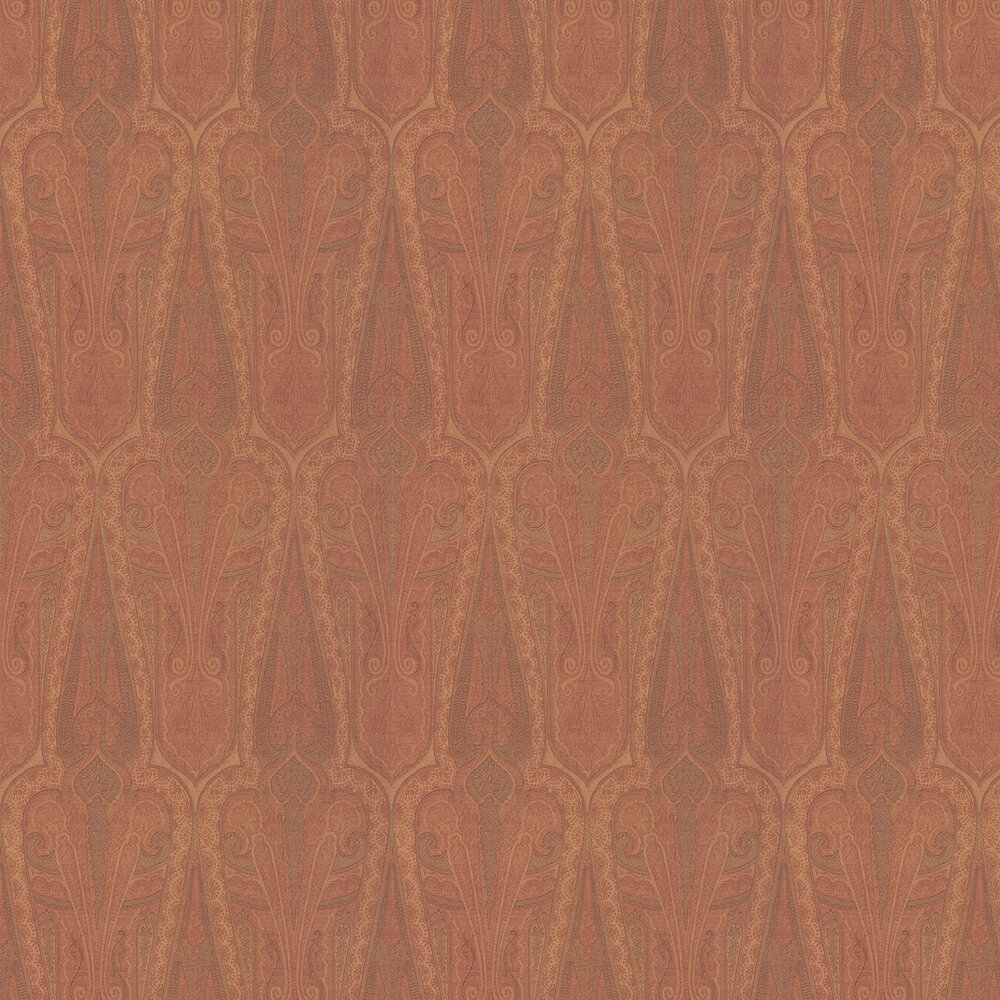 Mulberry Home Troika Paisley Spice Wallpaper - Product code: FG074T30