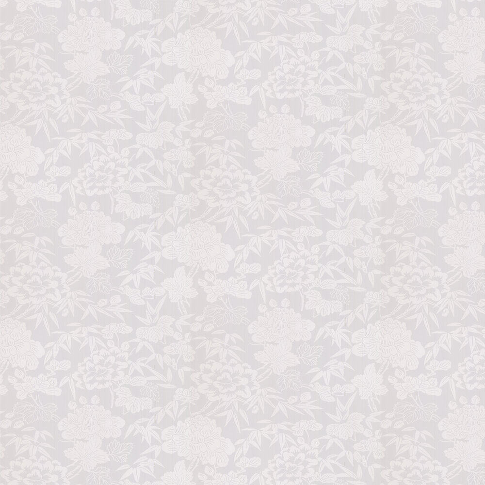 Jasmin Wallpaper - Grey - by Oasis