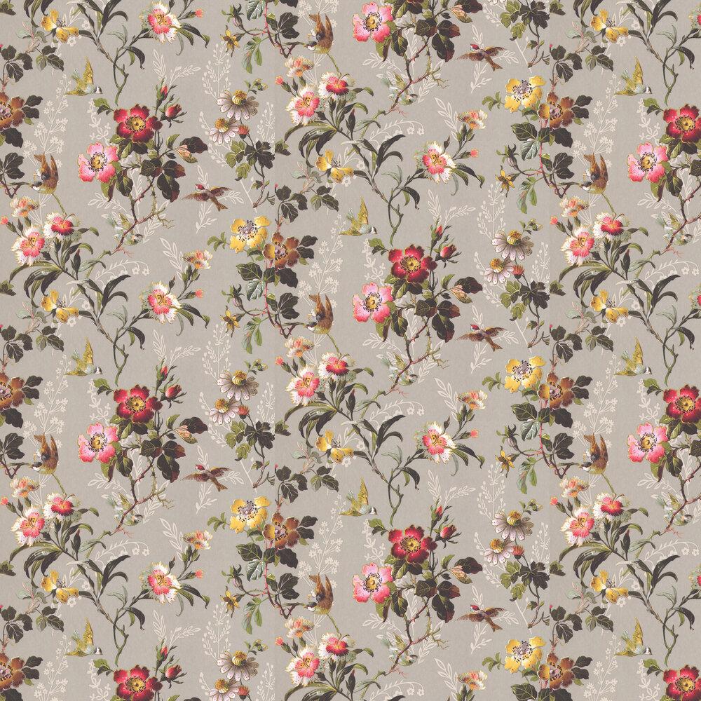 Leighton Wallpaper - Grey - by Oasis