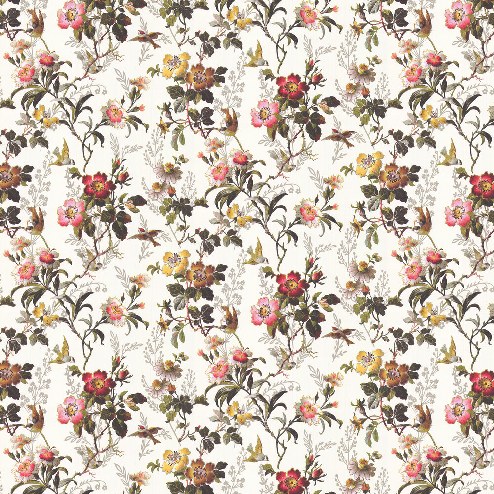 Oasis Leighton Ivory Wallpaper - Product code: W0111/03