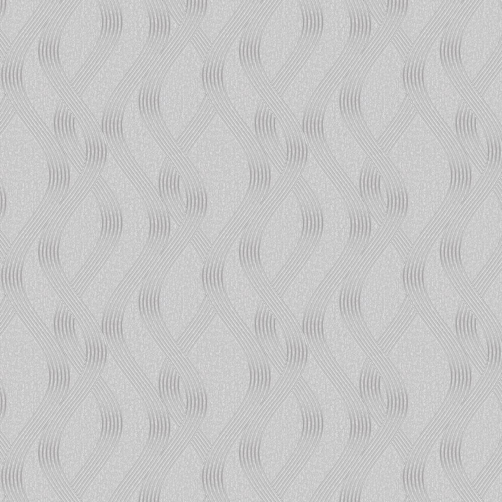 Sofia Wallpaper - Grey - by Albany