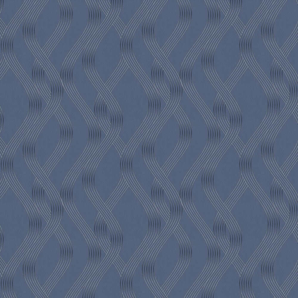 Albany Sofia Blue Wallpaper - Product code: 35644
