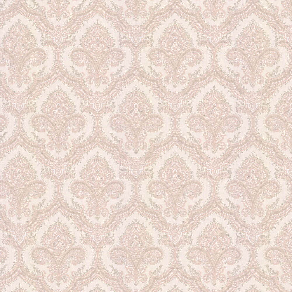 Sassari Damask Wallpaper - Cream - by Albany