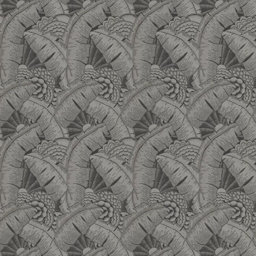 Ralph Lauren Coco De Mer Tarnished Silver Wallpaper - Product code: PRL5010/03