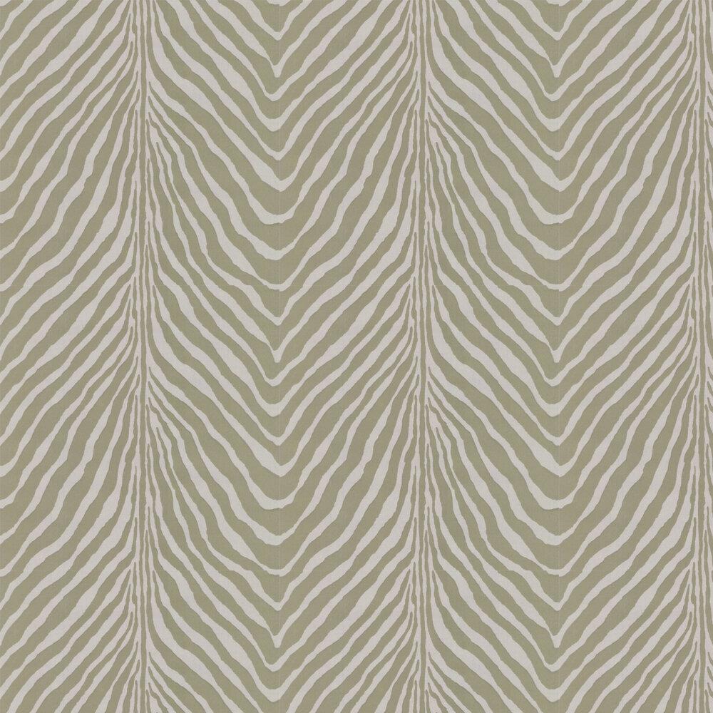 Barlett Zebra Wallpaper - Grey - by Ralph Lauren