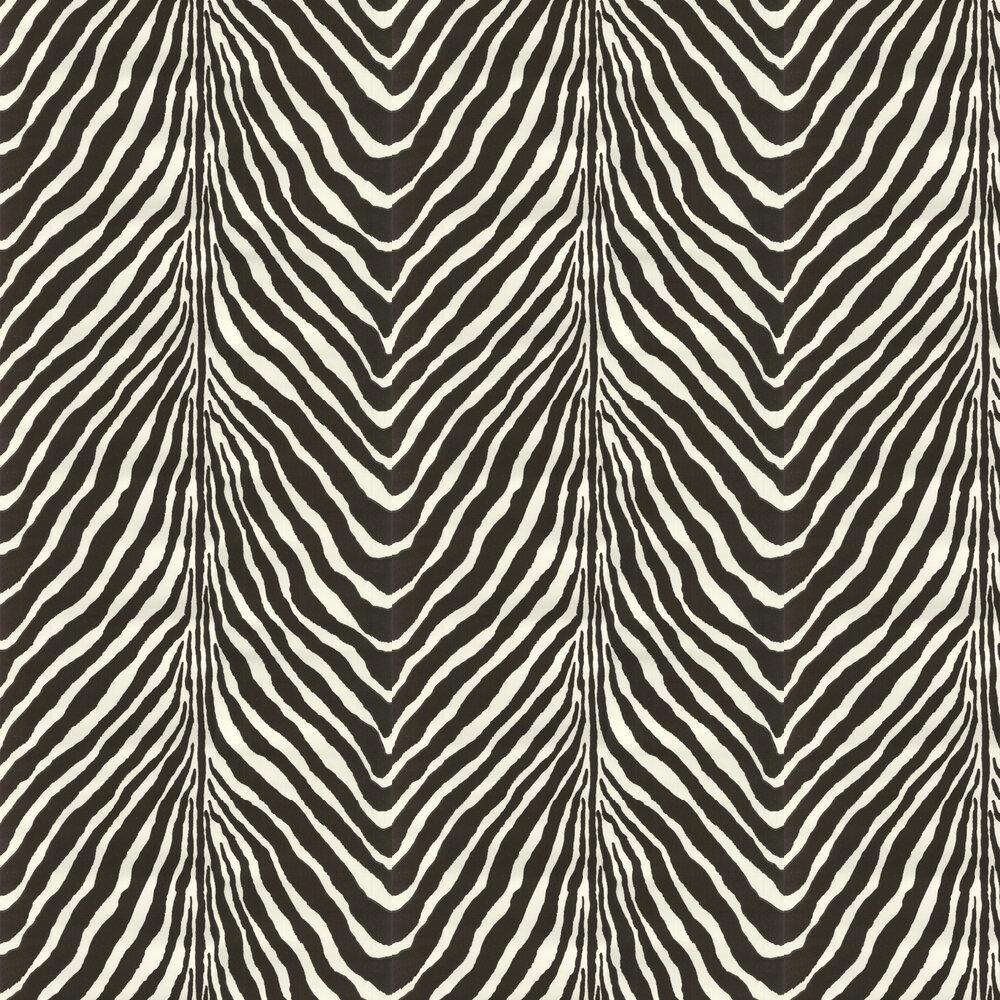 Ralph Lauren Bartlett Zebra Charcoal Wallpaper - Product code: PRL5017/04