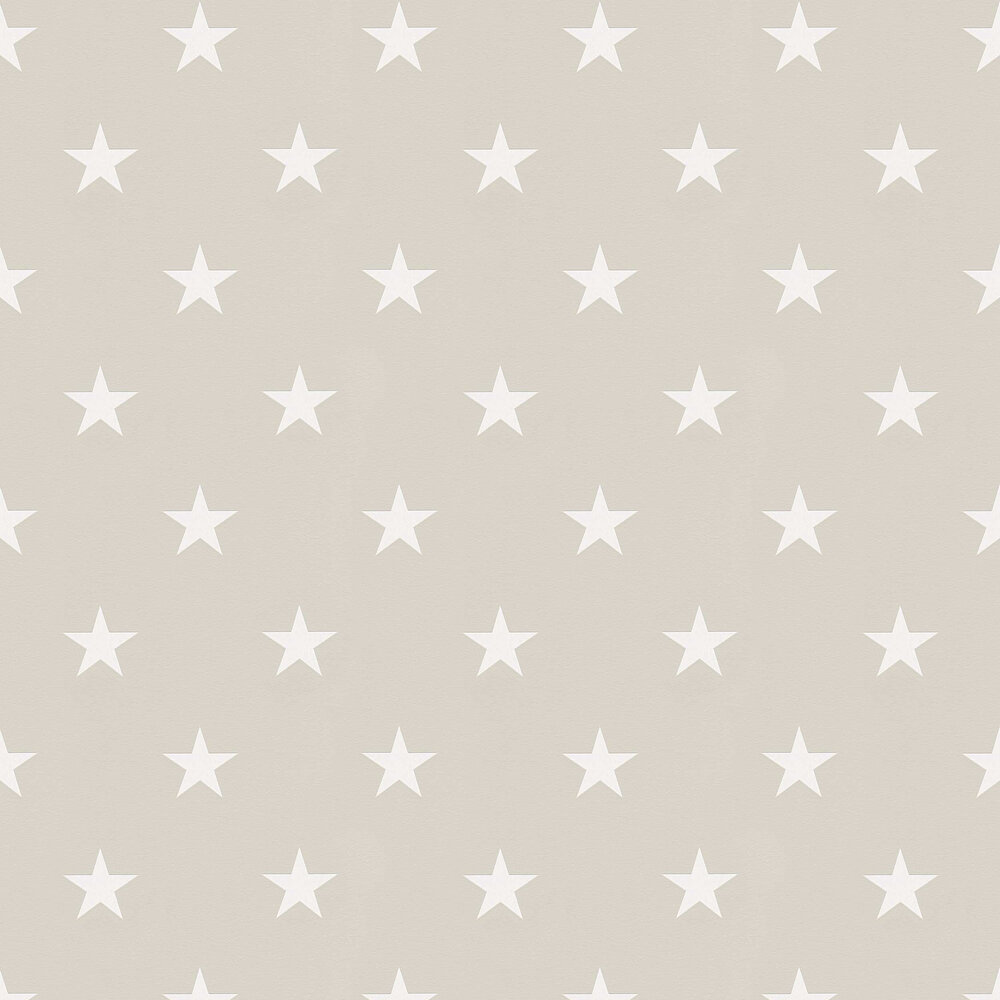 Star Wallpaper - Taupe - by Albany