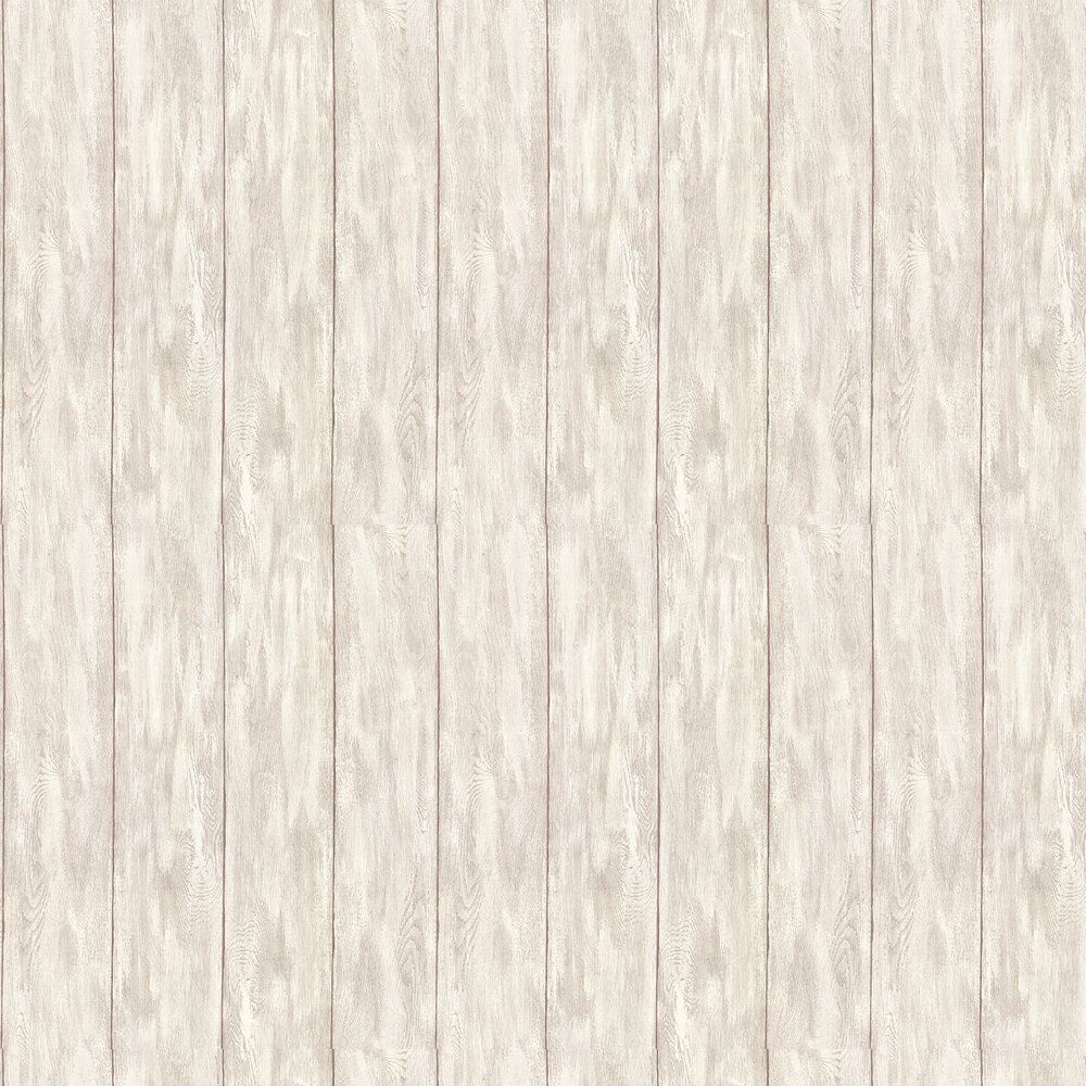 Wood Panel Wallpaper - Grey / Brown - by Albany