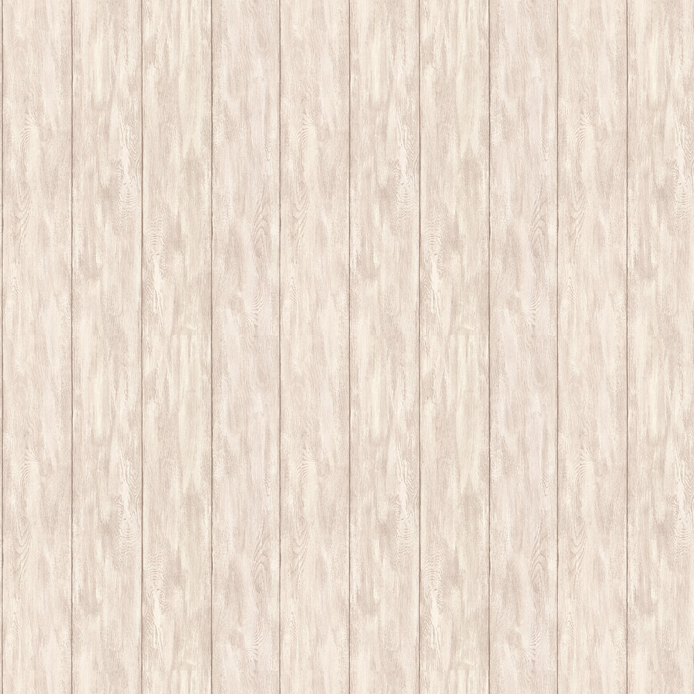 Wood Panel Wallpaper - Light Brown - by Albany