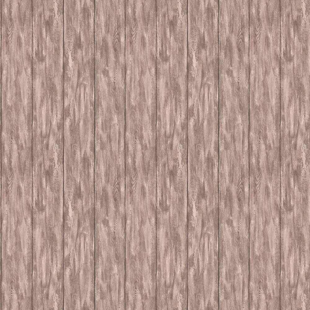 Wood Panel Wallpaper - Brown - by Albany