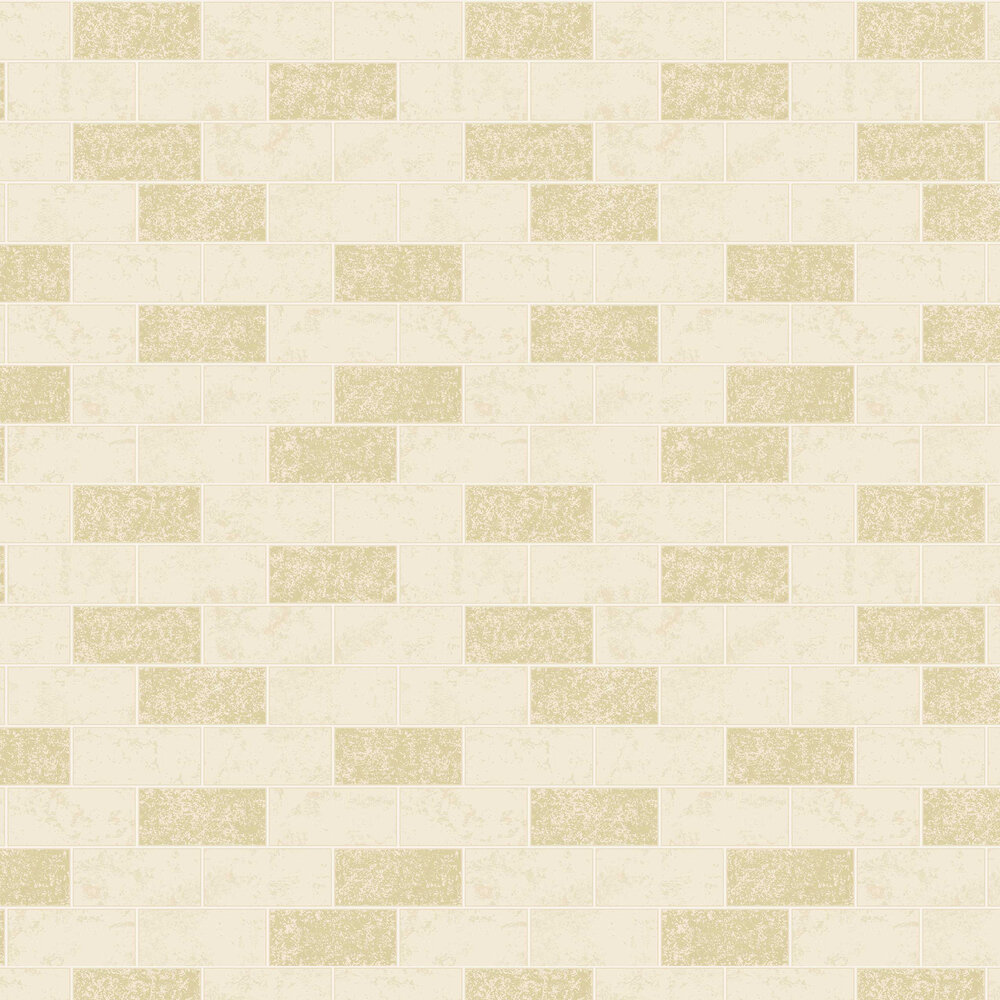 Albany Subway Tile Cream Wallpaper - Product code: FD41463