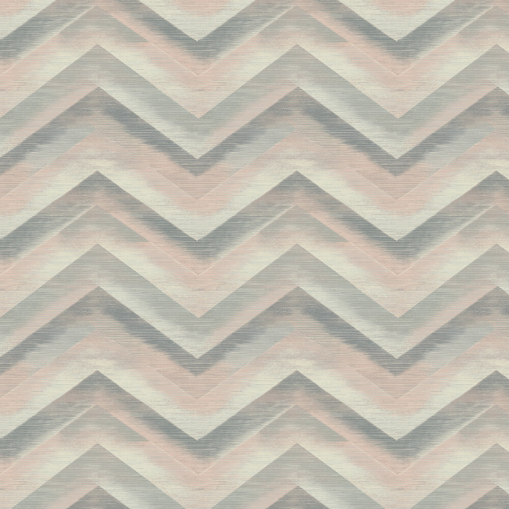 Cascade Wallpaper - Dusky Pink - by Albany