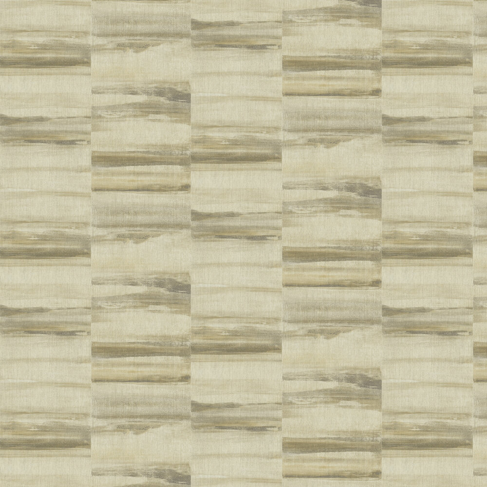 Luna Wallpaper - Beige/ Gold - by Albany