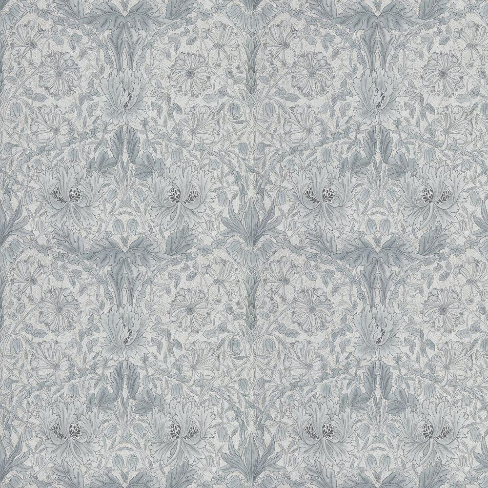 Morris Pure Honeysuckle and Tulip Cloud Grey Wallpaper - Product code: 216524