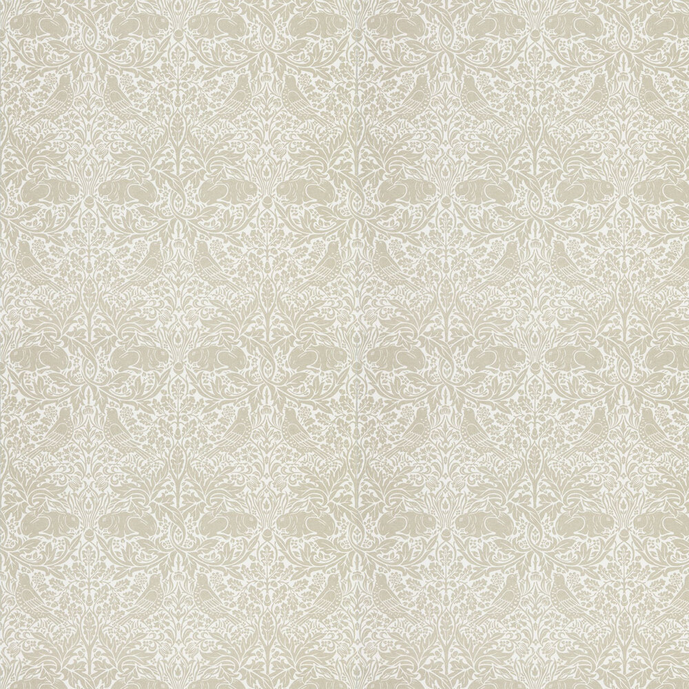 Pure Brer Rabbit Wallpaper - Linen - by Morris