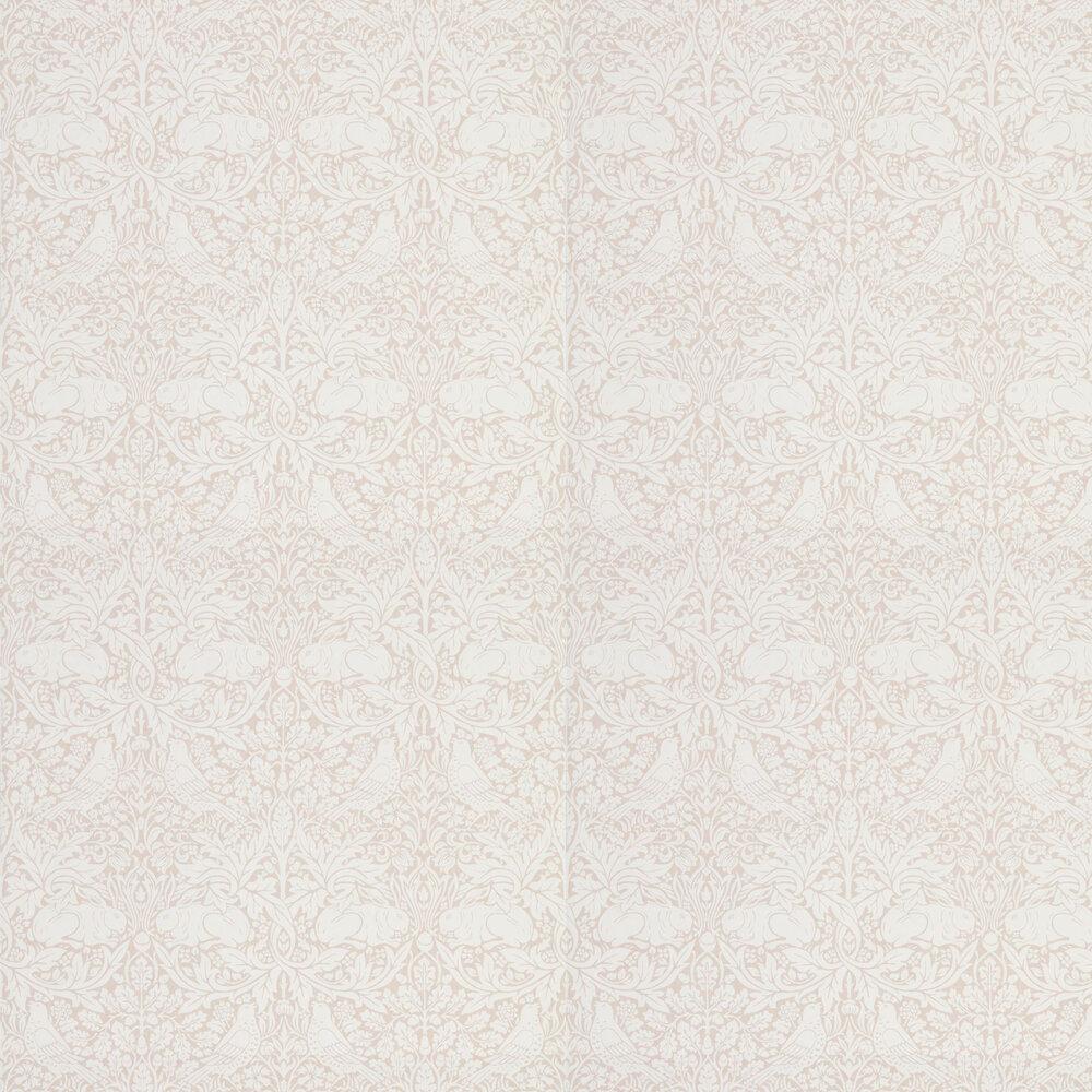 Pure Brer Rabbit Wallpaper - Sea Pink - by Morris