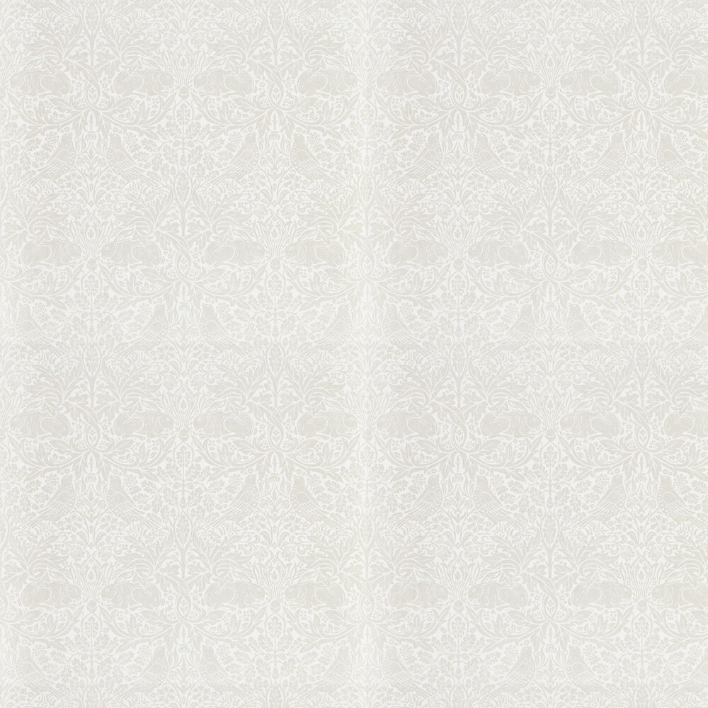 Pure Brer Rabbit Wallpaper - White Clover - by Morris