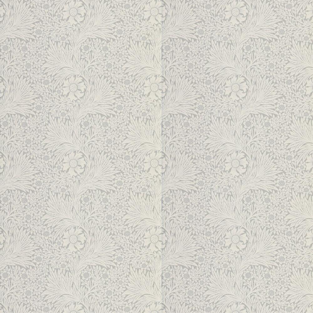Pure Marigold Wallpaper - Cloud Grey - by Morris