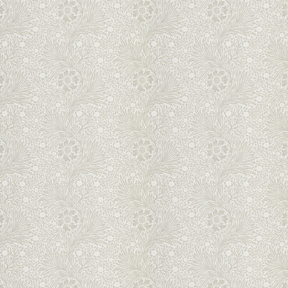 Pure Marigold Wallpaper - Soft Gilver - by Morris