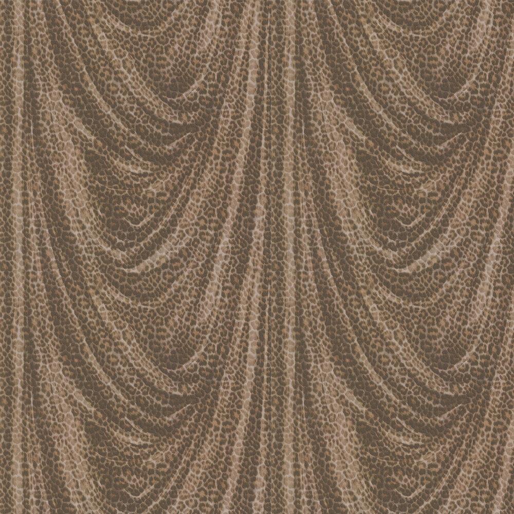 Roberto Cavalli Glitter Leopard Brown Wallpaper - Product code: 16111