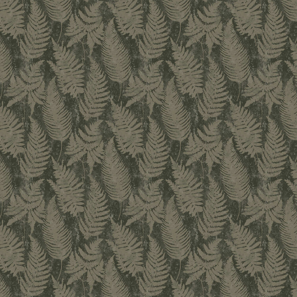 Whistler Wallpaper - Green - by Engblad & Co