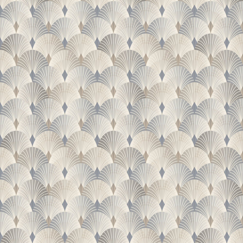 Engblad & Co Pigalle Brown and Dark Grey Wallpaper - Product code: 6367