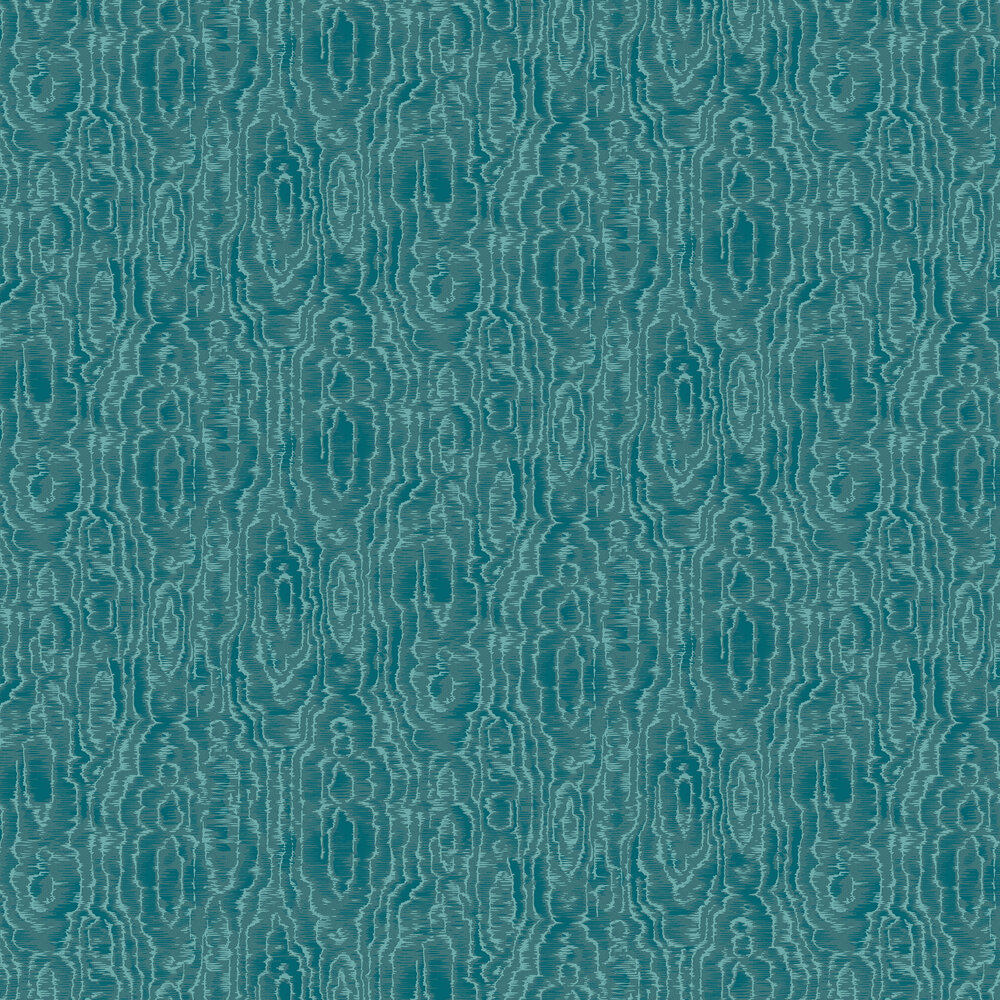 Engblad & Co Riviera Teal Wallpaper - Product code: 6371