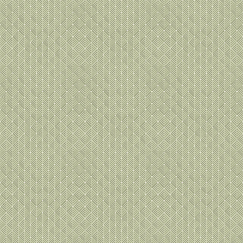 Opera Wallpaper - Green - by Engblad & Co