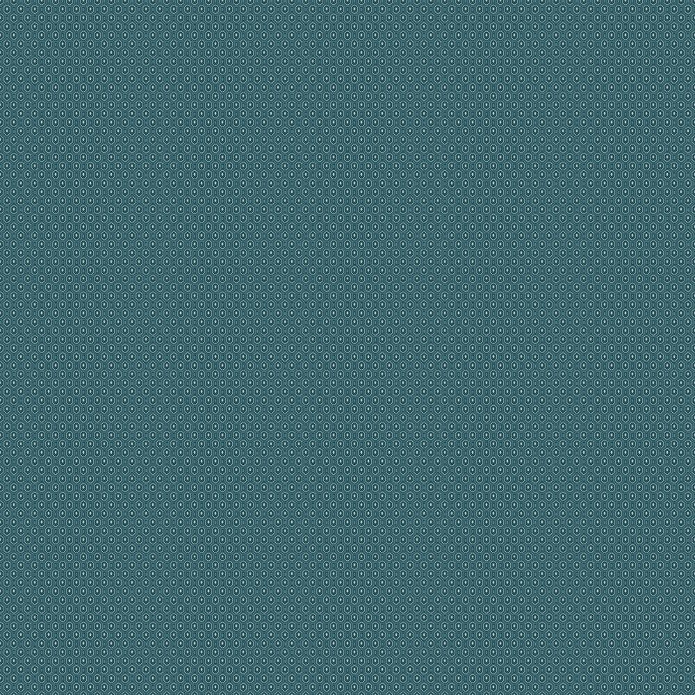 Ambassador Wallpaper - Blue - by Engblad & Co