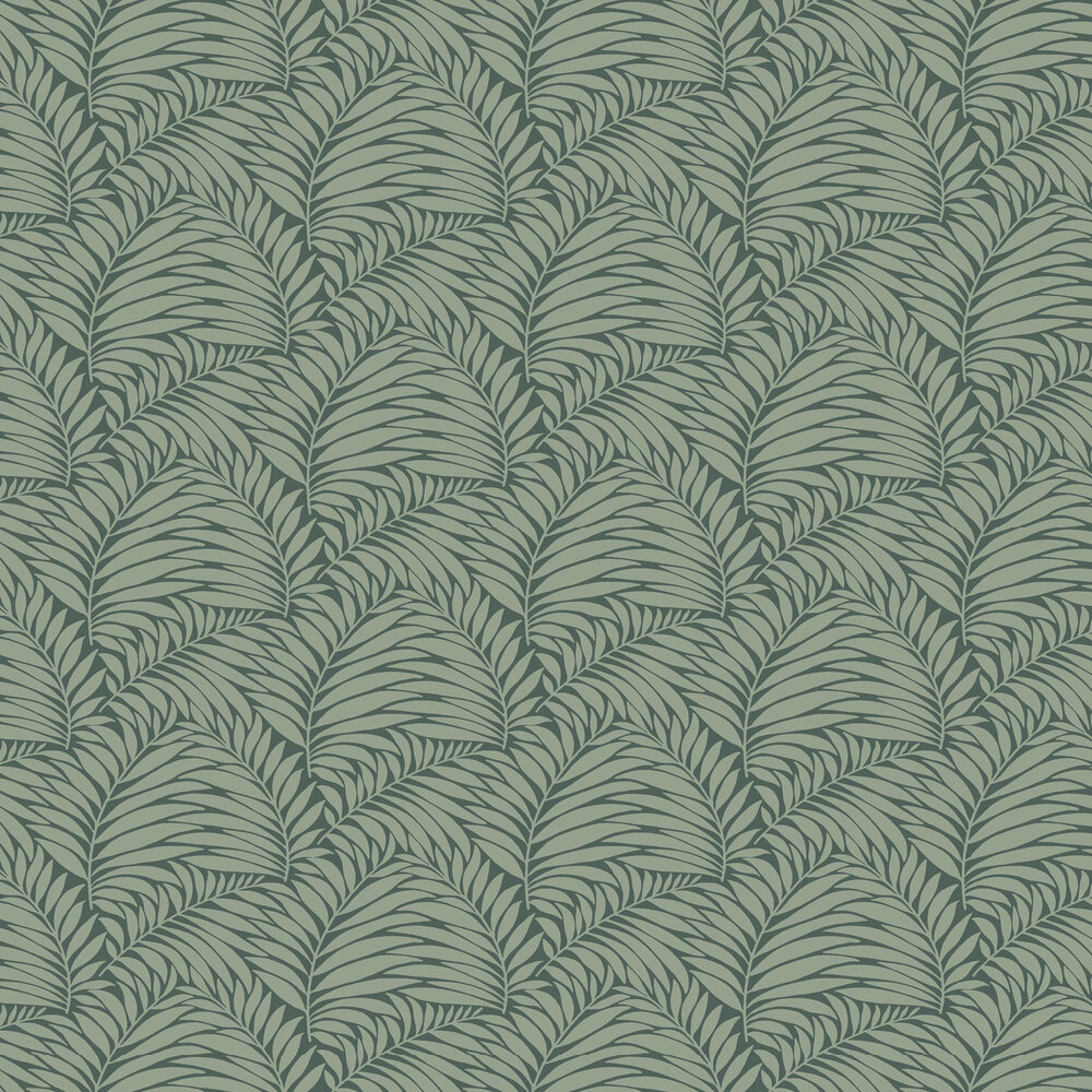 Myfair Wallpaper - Green - by Engblad & Co