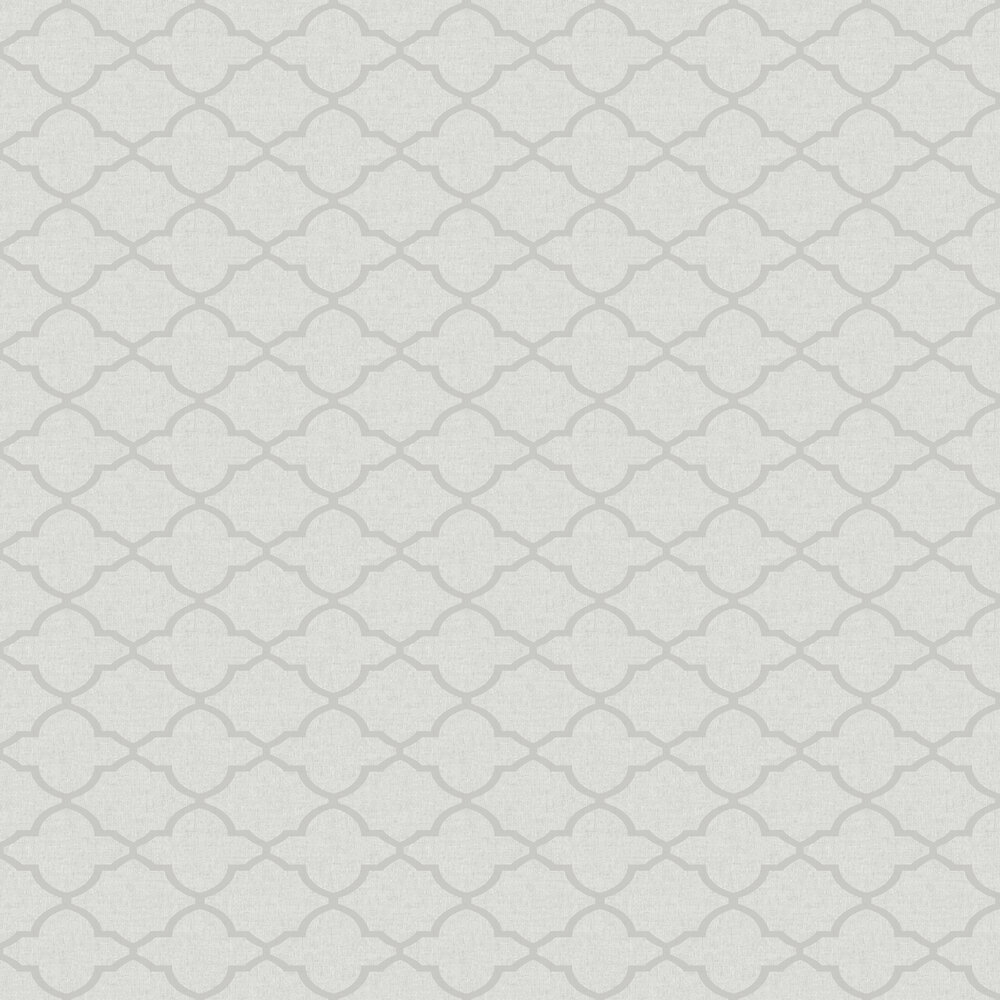 Geometric Diamond Wallpaper - Grey - by SK Filson