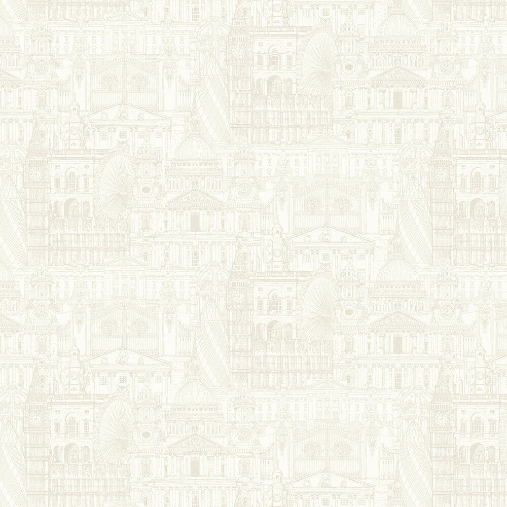 SK Filson London City Cream Wallpaper - Product code: FI2301