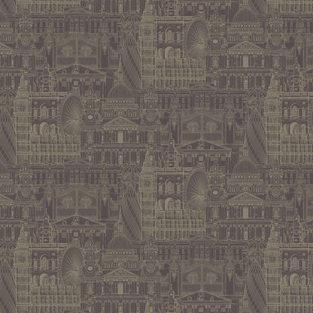 SK Filson London City Mulberry Wallpaper - Product code: FI2304