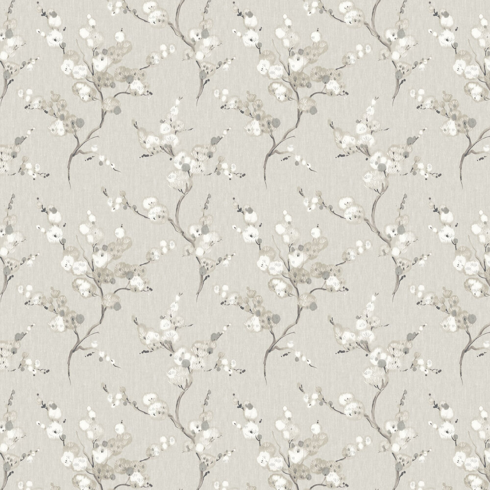 Bliss Wallpaper - Light Grey - by Albany
