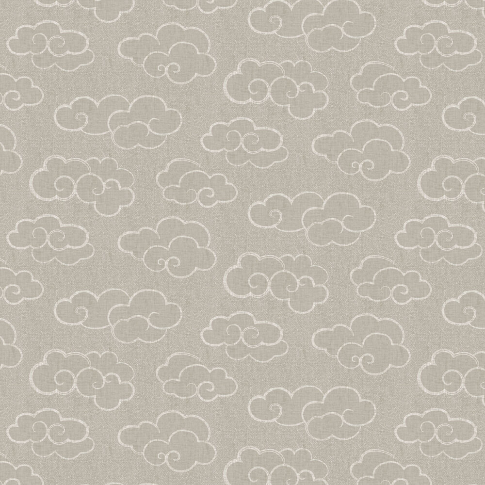 Skylark Wallpaper - Taupe - by Albany