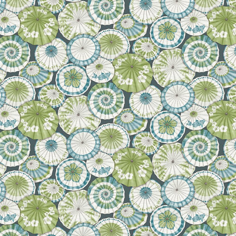 Albany Mikado Peacock Wallpaper - Product code: FD24360