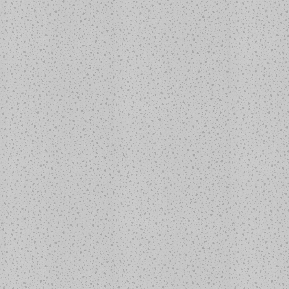 Terrazo Wallpaper - Silver - by Albany