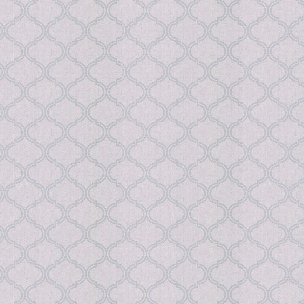Glistening Geo Wallpaper - Grey - by Albany