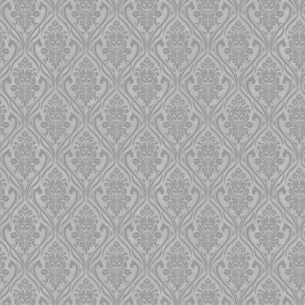 Blenheim Wallpaper - Grey - by Albany