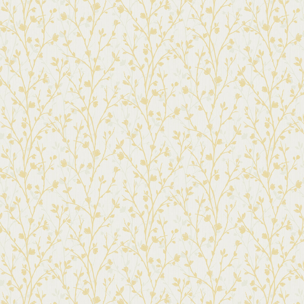 Albany Twiggy Yellow Wallpaper - Product code: FD42158