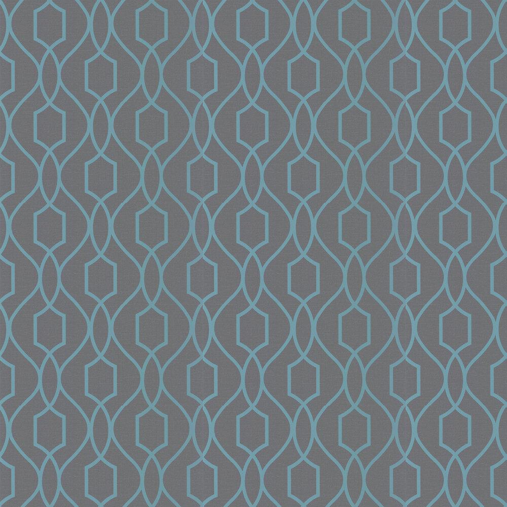 Albany Apex Trellis Charcoal Wallpaper - Product code: FD41996