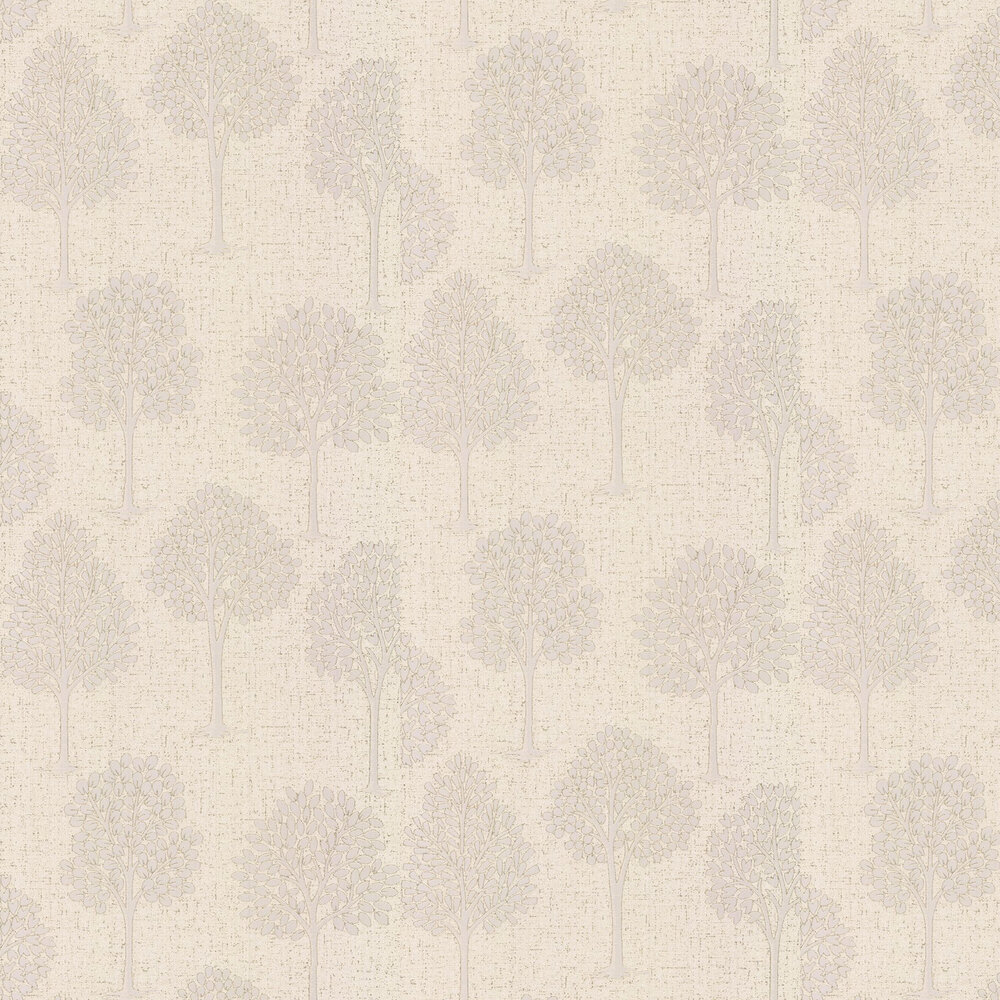 Quartz Tree Wallpaper - Gold - by Albany