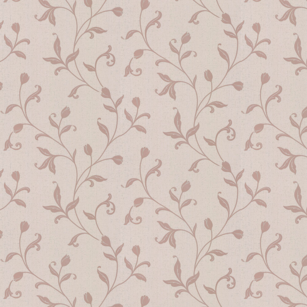 Quartz Trail Wallpaper - Rose Gold - by Albany